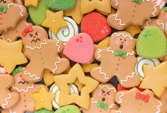 Angry Gingerbread Man Cookies