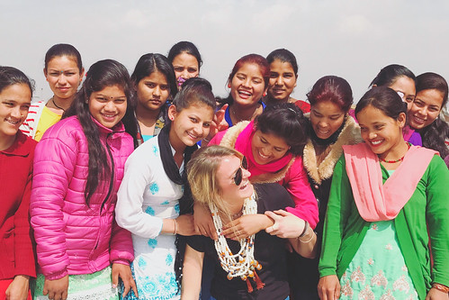Jewelry designer from U.S. returns to Nepal 'She Has Hope' home to teach new jewelry designs | by Peace Gospel