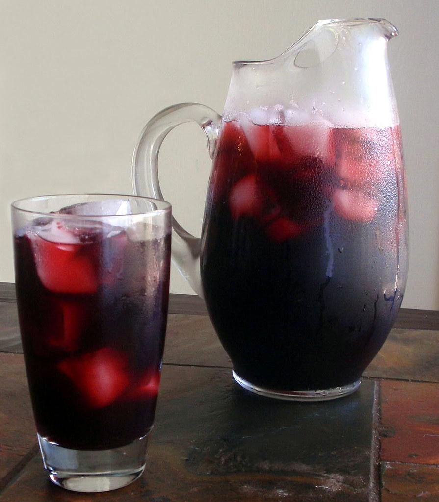 Agua de Jamaica Mexican Drink