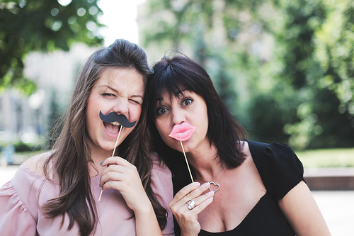 daughter and mother | by nadia ☆ bolshakova