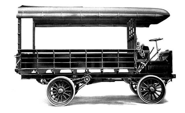 1911 ALCO 3 Ton Truck