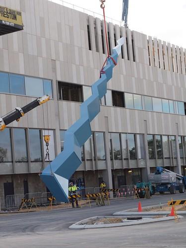 Fiona Stanley Hospital Tower Installation   by tonyjonesart