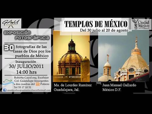 Exposición fotográfica TEMPLOS DE MEXICO