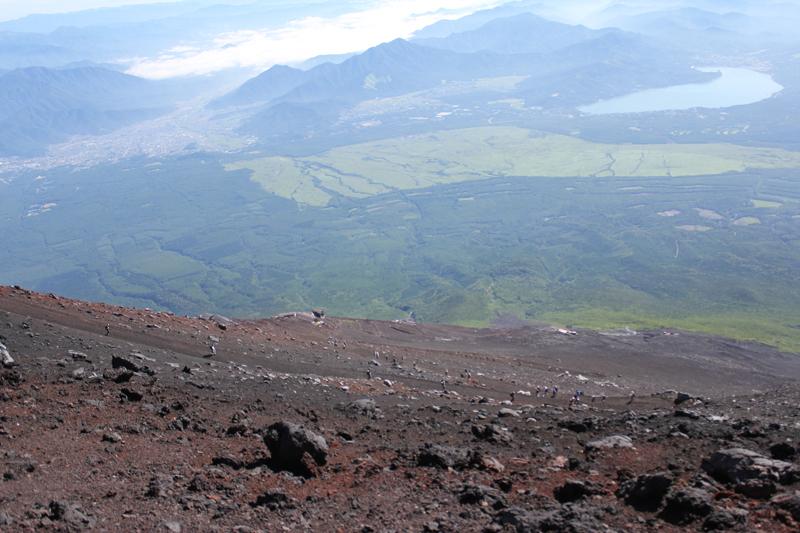 富士山下山道