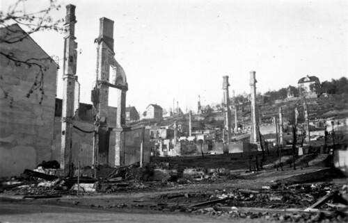 Narvik slik byen så ut i juni 1940
