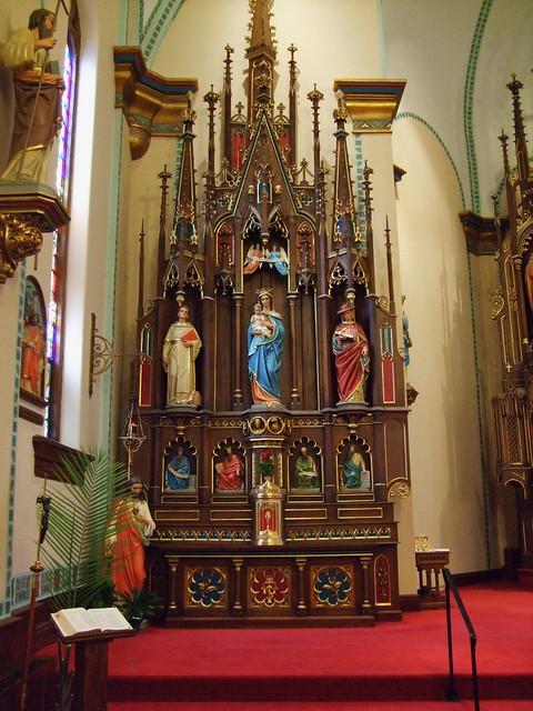 St. Mary of the Visitation Catholic Church, Iowa City, IA