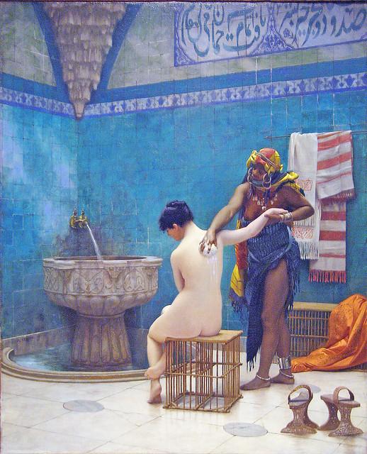 Jean-Léon Gérôme - a bath (1880-85)