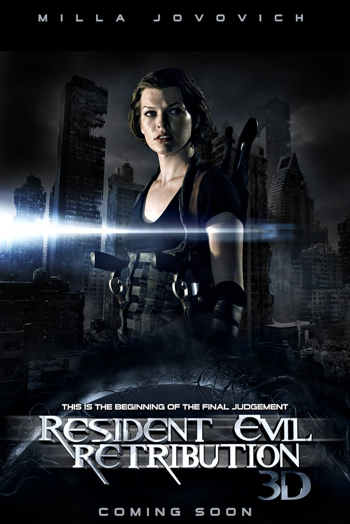 Resident Evil 5 Retribution Poster Teo Nikolas Flickr