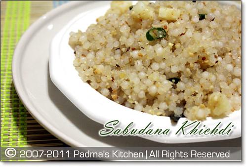 Sabudana-Khichdi1 | by Padma's Kitchen