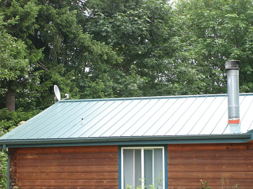 Completed Standing Seam Easy Loc Taylor Roof Rainier