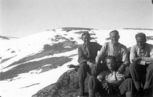 Bergjegere som deltok på Bøffelmarsjen 2 -13. juni 1940