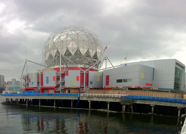 The new Science World Facade