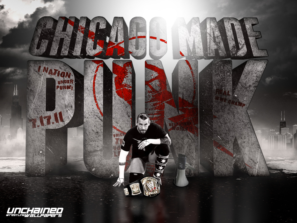Cm Punk Wallpaper This Is A Cm Punk Wall Paper I Found On