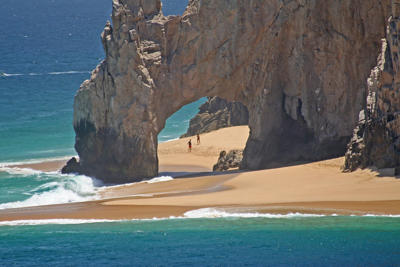 F1 arch near the harbour of Cabo San Lucas, Mexico