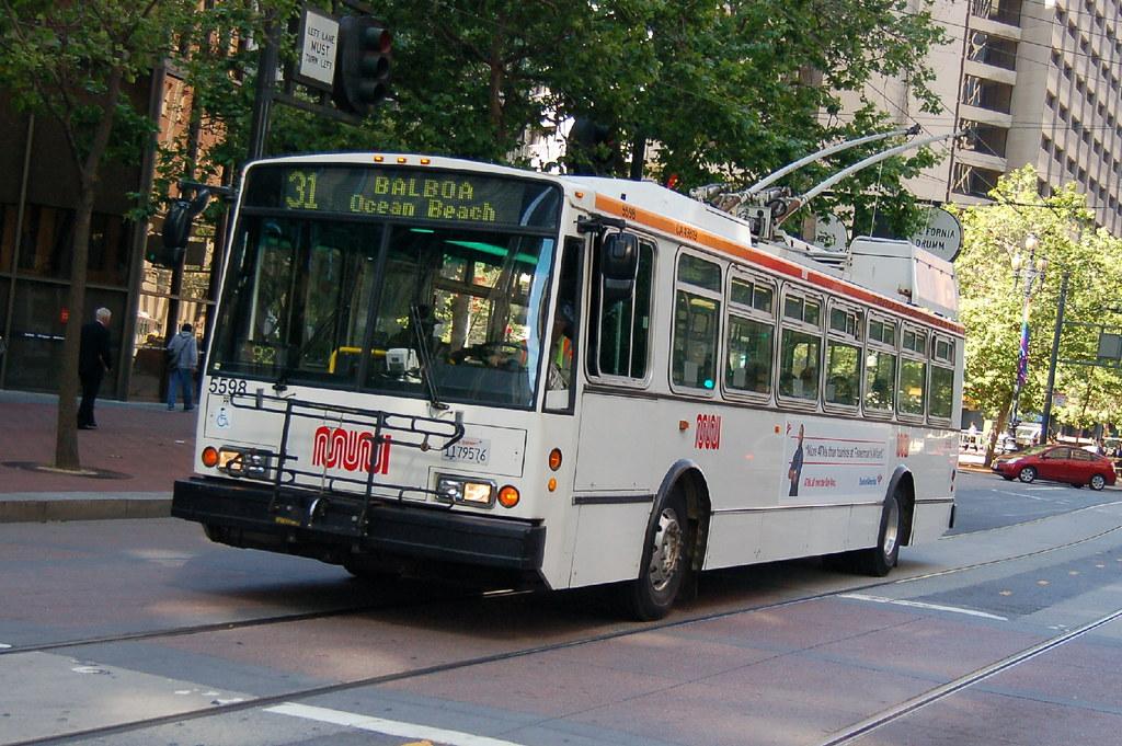 San Francisco Muni Trolleybus ETI 5598 San Francisco, Cali… | Flickr