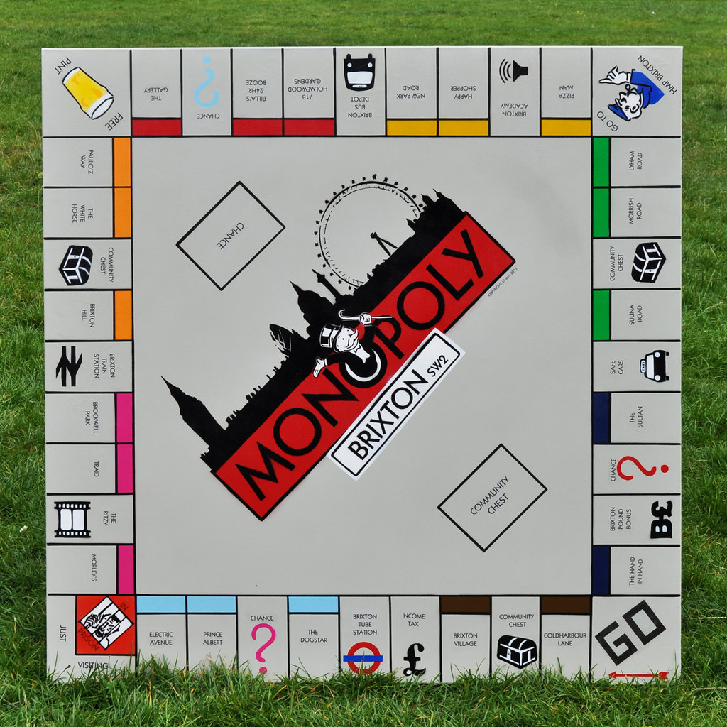 ... Monopoly - Brixton stylee - by id-iom