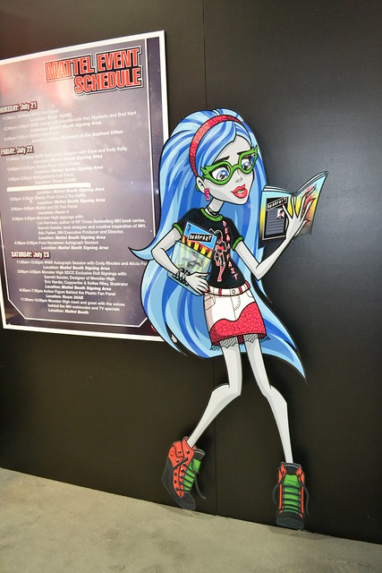 Ghoulia in her super hero outfit that will be in stores soon