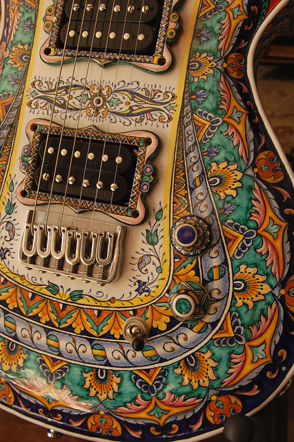 Ceramic's  guitar
