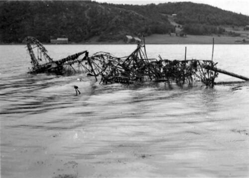 Tysk flyvrak, Hemnesberget