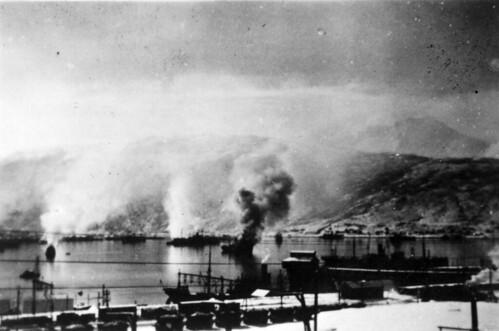 Narvik havn - Kampene om Narvik