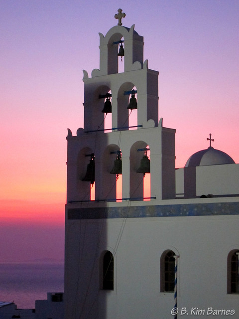 Sunset in Oia 1