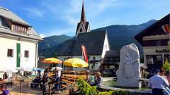 Пивной фестиваль в городе Liesing