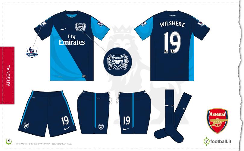 7a5b49ac9 ... Arsenal away kit 2011 2012