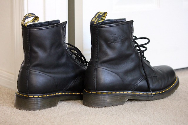 Listen To The Sound Of My Big Black Boots