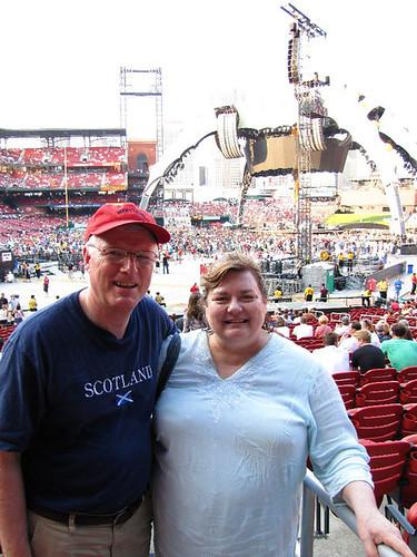 Dr. Bob & Janet Burns - U2