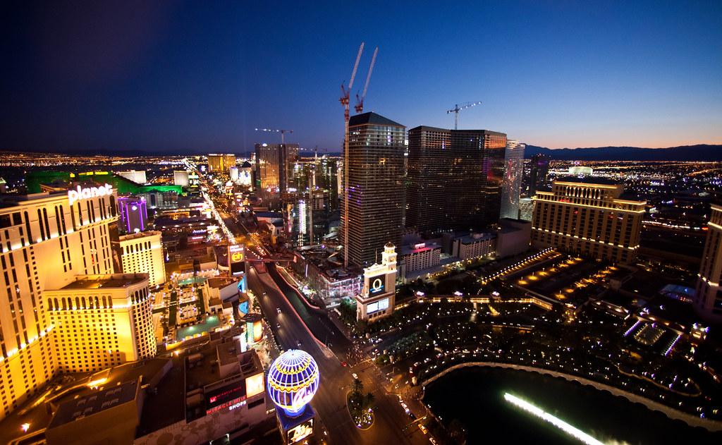 Sundown on Las Vegas