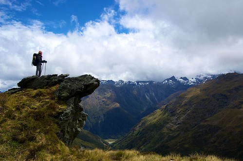 newzealand nicole hiking southisland hiker tramping mtaspiringnationalpark tramper d40 1855mmf3556gii youngwilkintrack