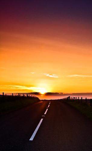 road sunset portrait england sky sun slr landscape evening warm afternoon unitedkingdom sony a33 dorset bluehour slt goldenhour leadinglines