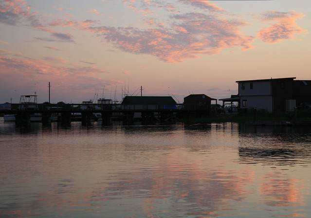 Sunset on the Bay in West Wildwood