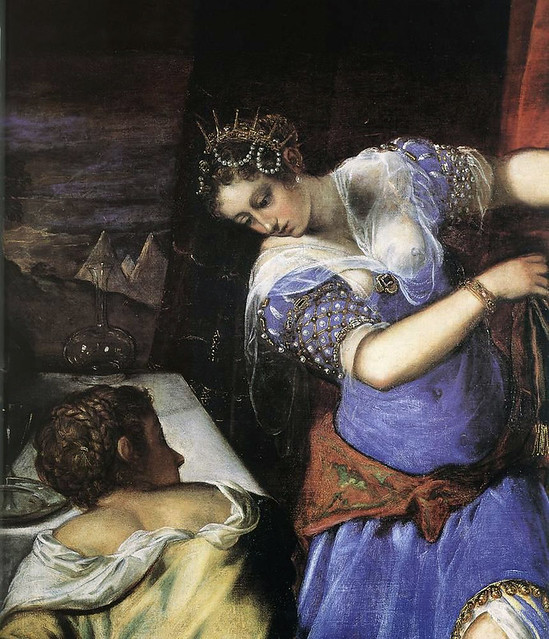 Tintoretto - Judith and Holofernes, detail (1577)