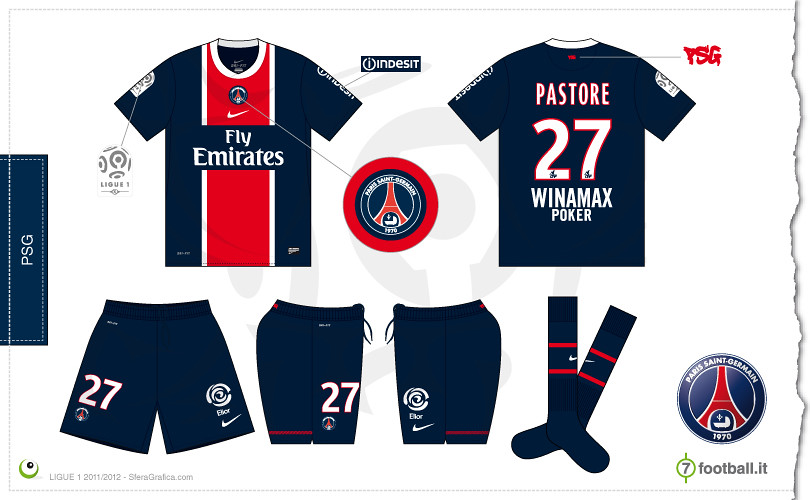 pretty nice e3609 63795 PSG home kit 2011/2012 | Sergio Scala | Flickr