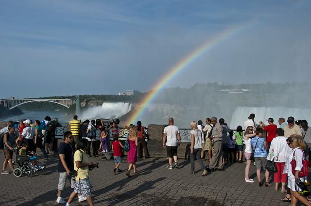 Niagara Falls -  Rainbow over the Falls