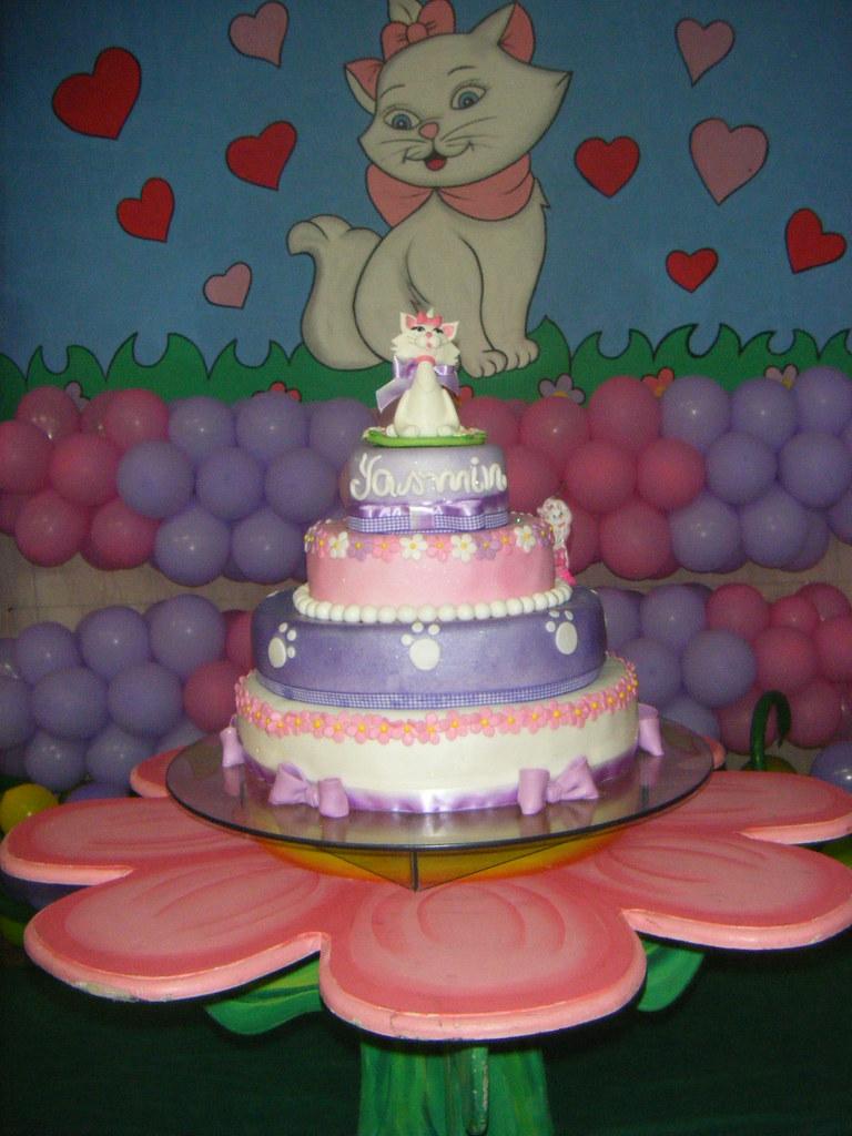 Bolo Gatinha Marie - Marie Cake