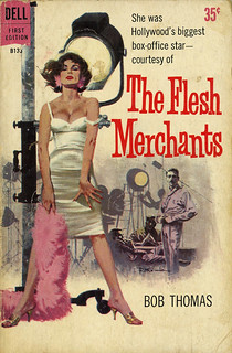 Dell Books B133 - Bob Thomas - The Flesh Merchants