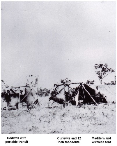 1921 Camp in the NW, 110 miles SE of Wyndham. People Named - KHS-2011-15-03-P2-D   by Kununurra Historical Society