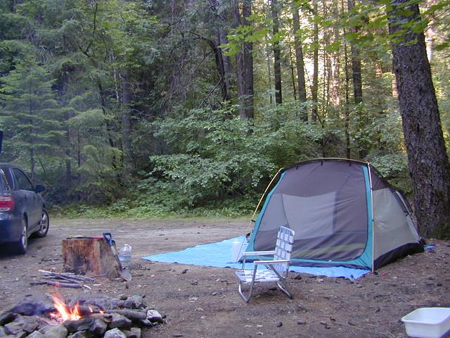 Rustic Camping California