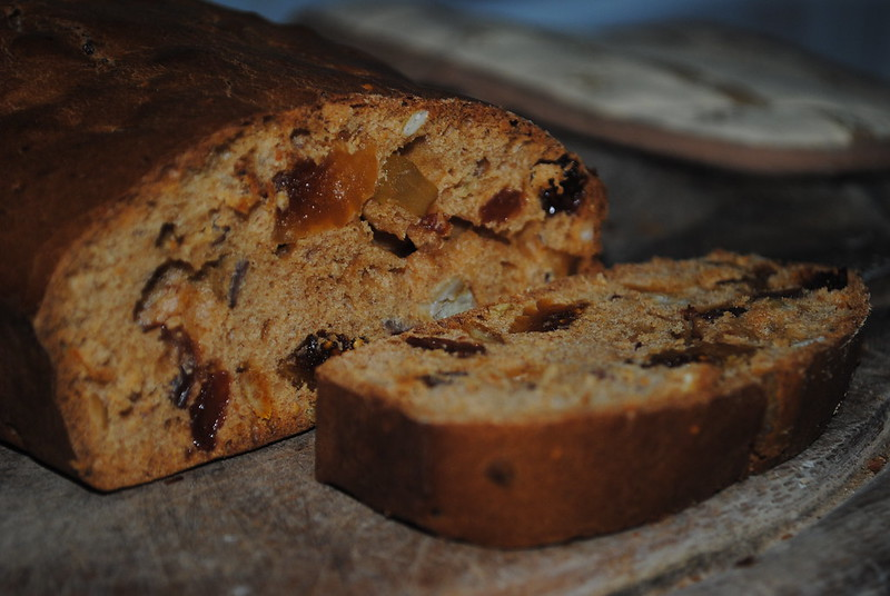 fruit bread.