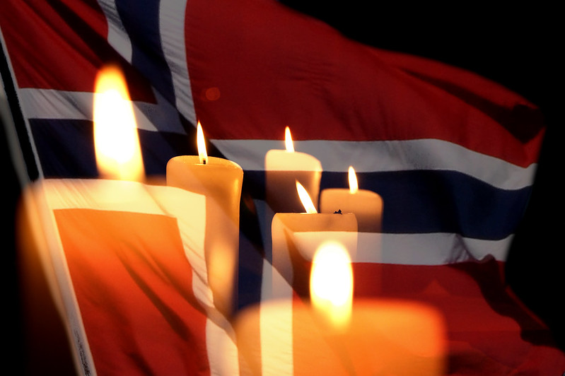 Candles for Norway