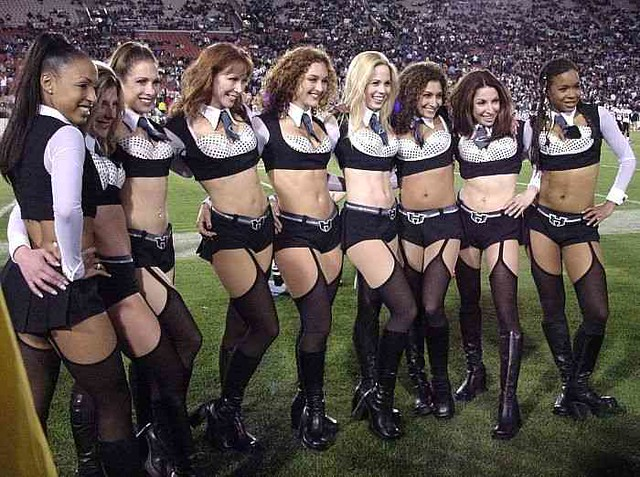 Image result for xfl cheerleaders