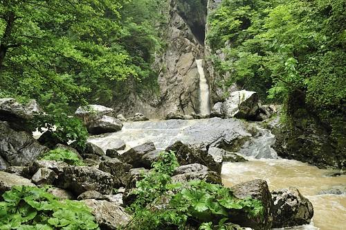 Агурские водопады Сочи 2011