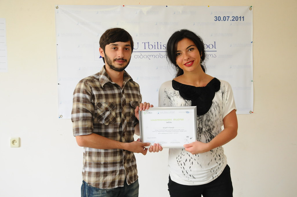 Graduate of PRSchool IMC April 2011