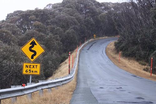 Winding roads for the next 65 kilometres?!