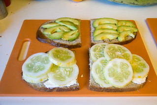 Cucumber and Avocado Added | by Lucky Mike Rocks