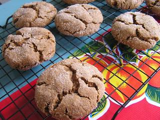 vegan molasses cookies | by ozmafan