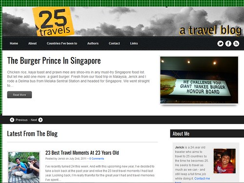 Starting 25travels.com | by JMParrone