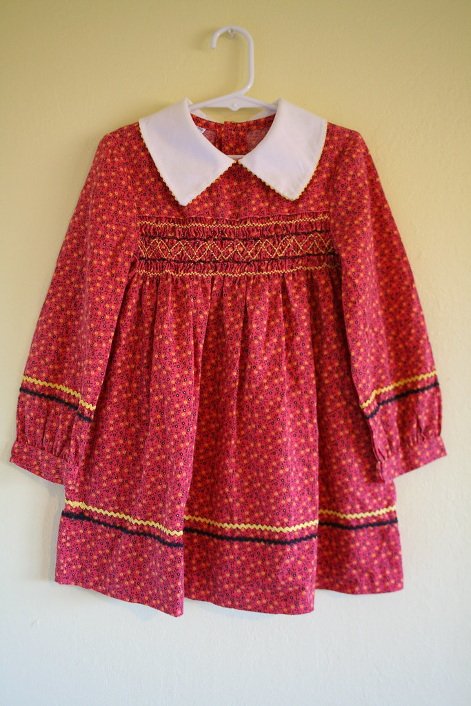 a07ae908a111 Vintage Hand Smocked Polly Flinders Dress | sold | honor | Flickr